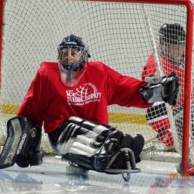 hockey sur luge
