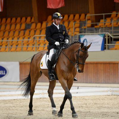 José Lorquet equitation