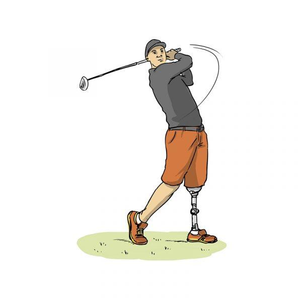 Dessins - golf
