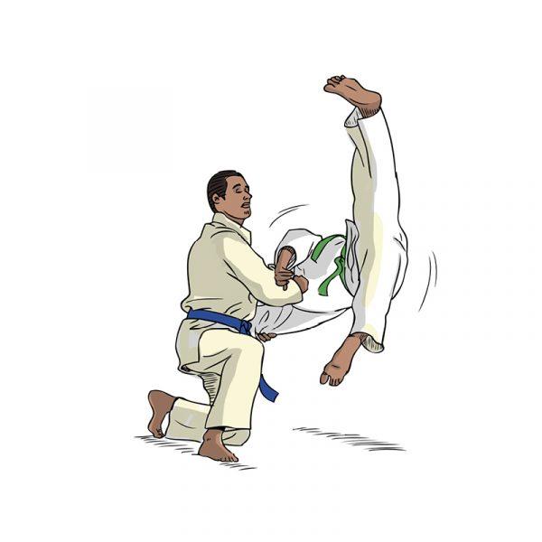 Dessins - judo