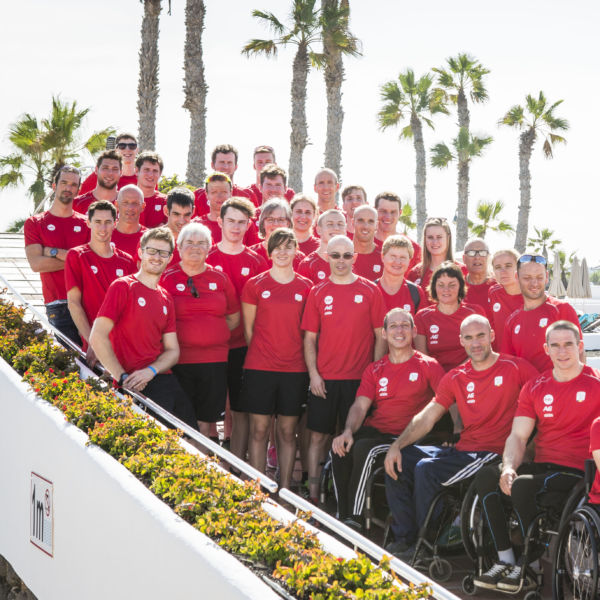 lanzarote paralympic team belgium athlètes