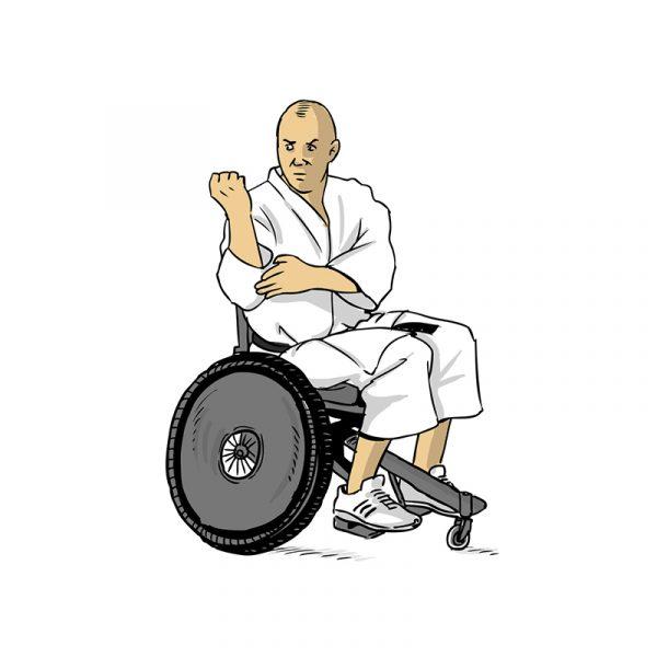Dessins - karate