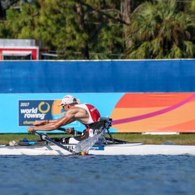 Louis Toussaint Championnat du monde d'aviron