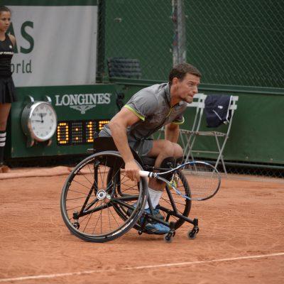 Tennis Joachim à Roland Garros