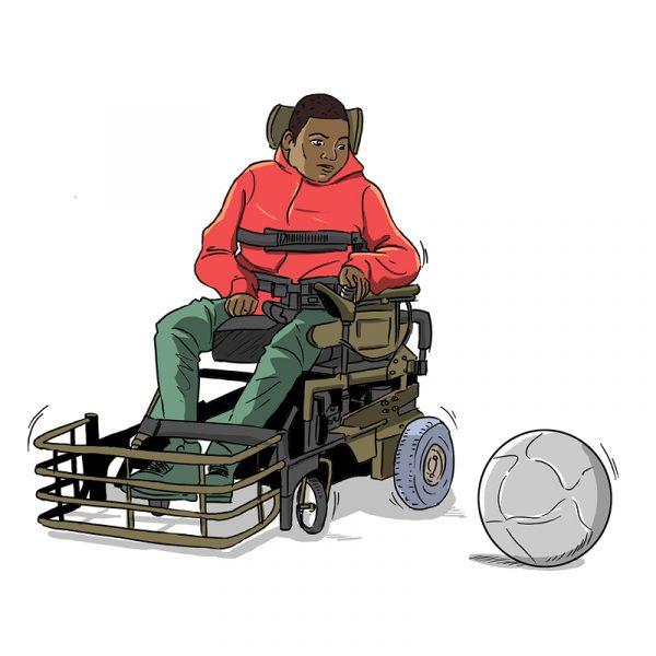 Dessins - foot fauteuil