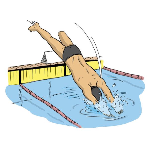 Dessins - natation