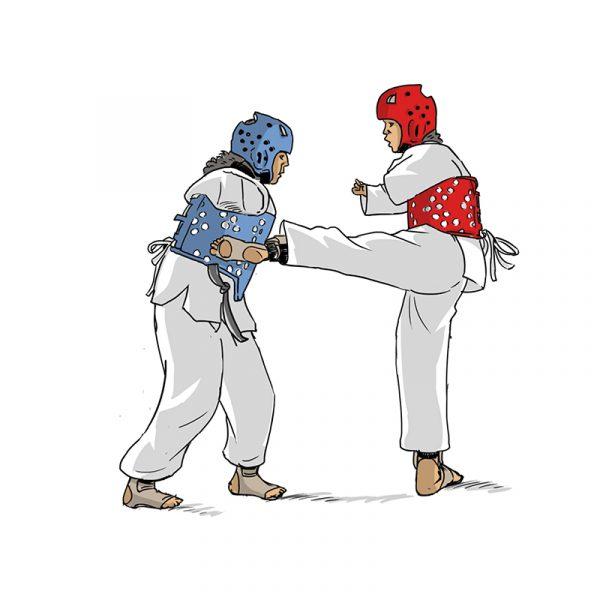 Dessins - taekwondo
