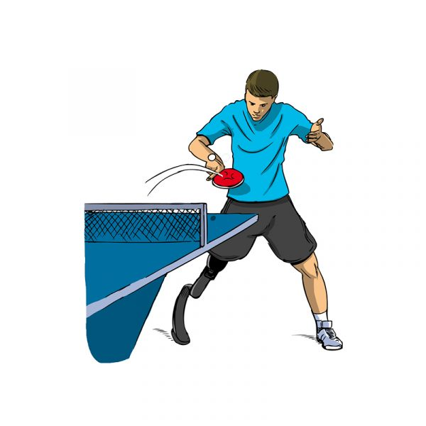Dessins - tennis de table
