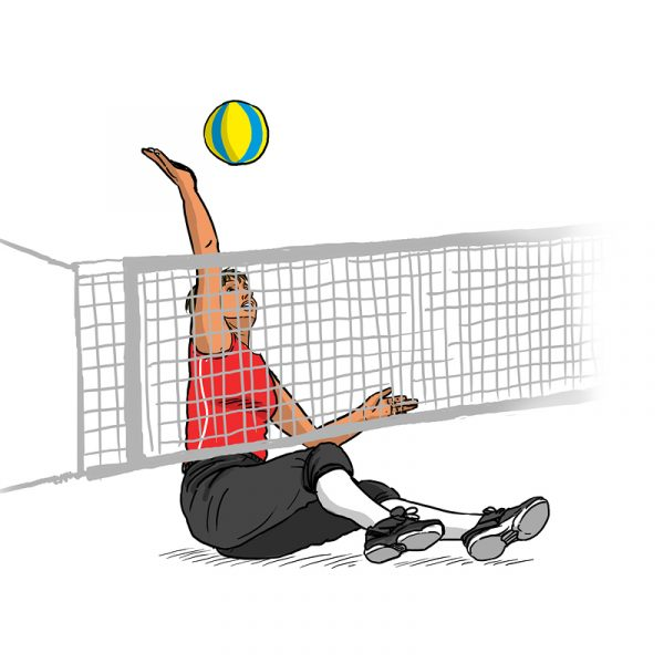 Dessins - volley-ball