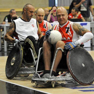 Rugby en fauteuil