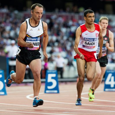 Basile Meunier aux Championnats du monde