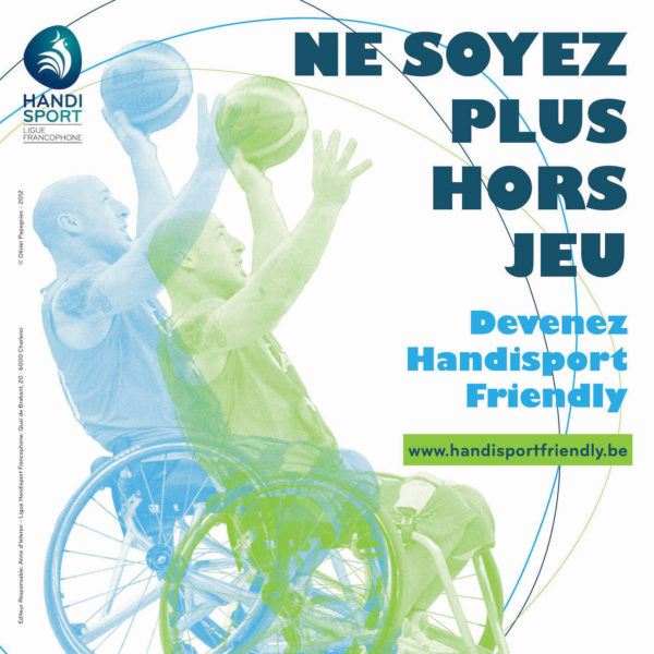 Affiche Handisport Friendly 1 – carre