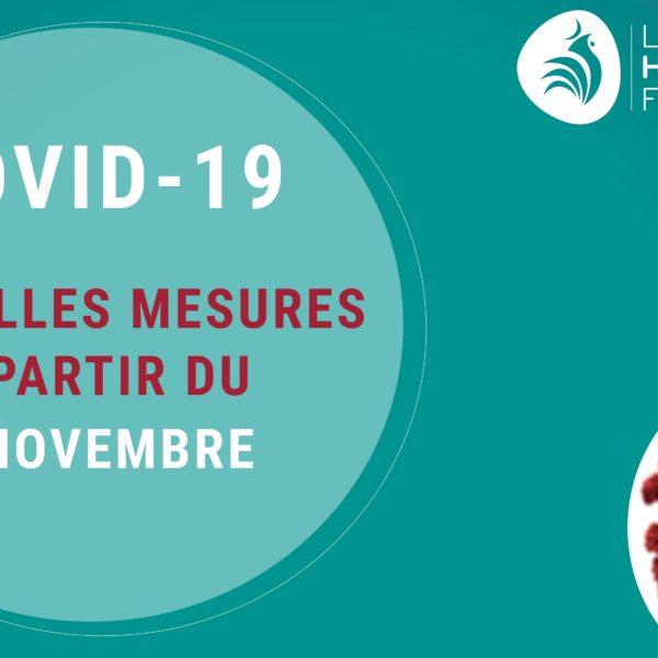 Visuel COVID – 1 novembre – réduit