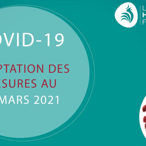 Visuel COVID – 27 mars