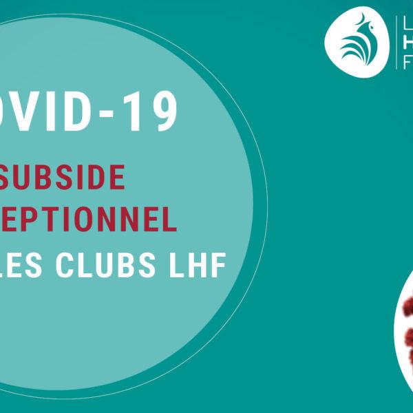 Visuel COVID – Subside exceptionnel LHF